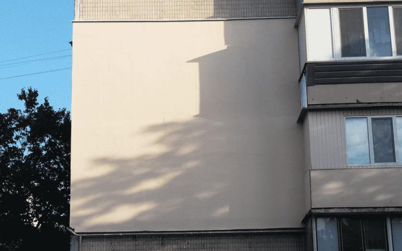 Утепление фасада Академика Паладина 24