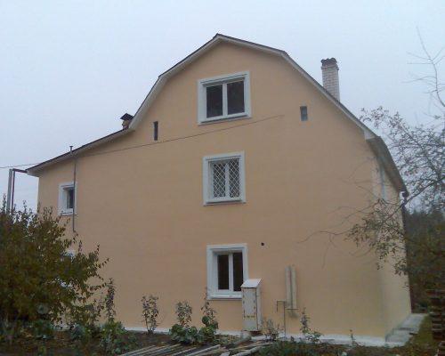 Утепление фасада дома в Киеве