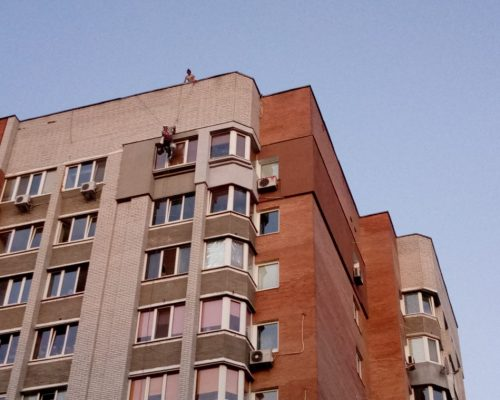 Утепление стен квартиры на ул. Теремковская