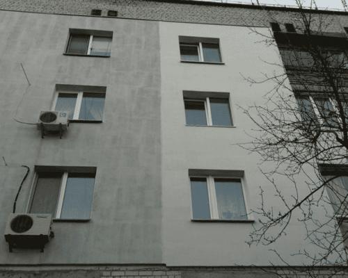 Утепление стен фасада пенопластом пгт. Коцюбинское