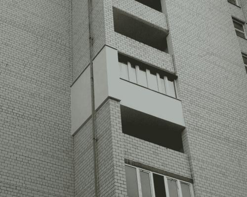 Утепление фасада балкона Коцюбинское