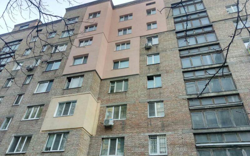 Утепление фасада в Киеве ул. Львовская 51