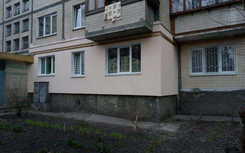 Утепление фасада на Новобеличах