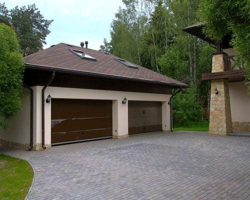 Утепление фасада гаража Киев