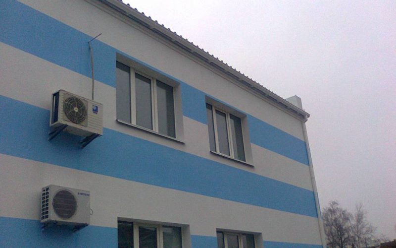 Утепление здания на Святошино