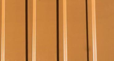 обшивка фасада профнастилом