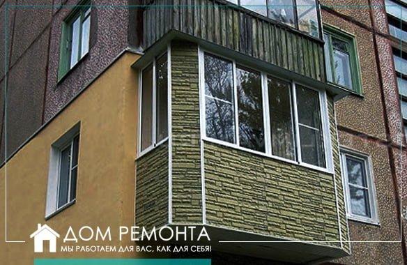 Оздоблення балконів і лоджій